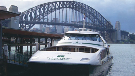 Sydney Ferries: Overcoming challenges of water-based Urban