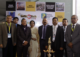 TrafficInfraTech unveils the latest in Urban Mobility