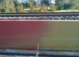 Coloured Concrete Safety Barriers