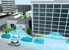The sensor-controlled parking management system