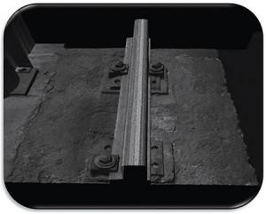 Intensity Image Showing Rail