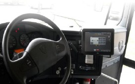 GPS devices in RMC buses