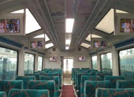 Saint-Gobain's Glass for the Glass-roofed Vistadome coach on Mumbai-Goa route