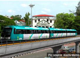 NFC technology for Kochi metro