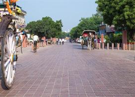 Taj Ganj Urban Development project: Streets as Connectors