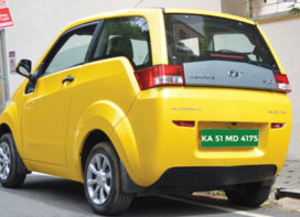 Green Registration Plates for Electric Vehicles