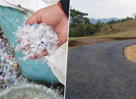 Roads from Plastic Waste