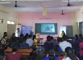 Road Safety Awareness Competition at KC College