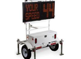 Shield Radar Speed Signs