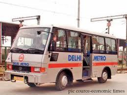 NMRC introduces feeder buses in Noida, Greater Noida