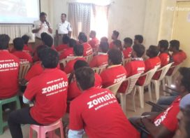 Zomato partners with Traffic Training Institute-Cyberabad during National Safety Week