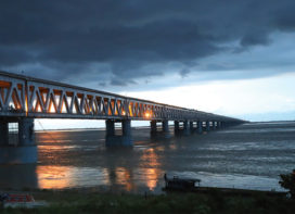 Bogibeel Rail-cum-Road Bridge: An engineering marvel across the Brahmaputra