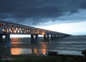 Bogibeel Rail-cum-Road Bridge: An engineering marvel across the Brahmaputra