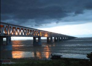 Bogibeel Rail-cum-Road Bridge: An engineering marvel across