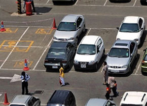 AI for anonymous detection of parking space