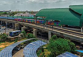 Chennai Metro: Being Digital
