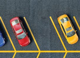 New app to locate parking space