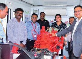 Mobile Training fleet on BS-VI technology